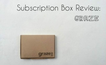 graze healthy subscription box review