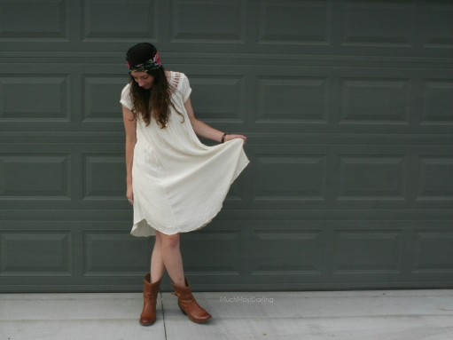 raynajaye hair turban free people dress