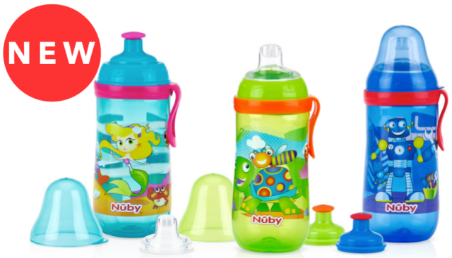 Nuby Busy Sipper 2 Stage Cup